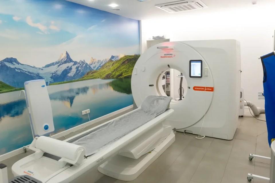 Гордость центра компьютерной томографии «Ами» - мультиспиральный компьютерный томограф последнего поколения Siemens Somatom go.Now.