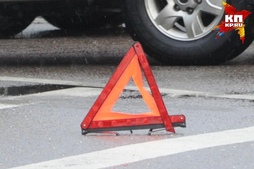 В ДТП пострадала женщина-пассажир
