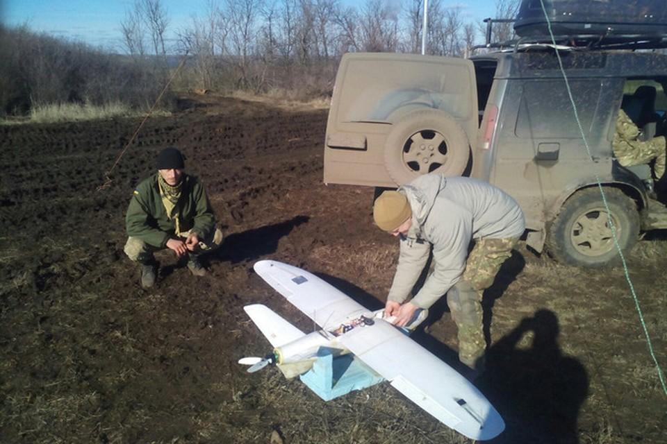 Украинские военные готовятся к массированному применению беспилотников. Фото: МОУ
