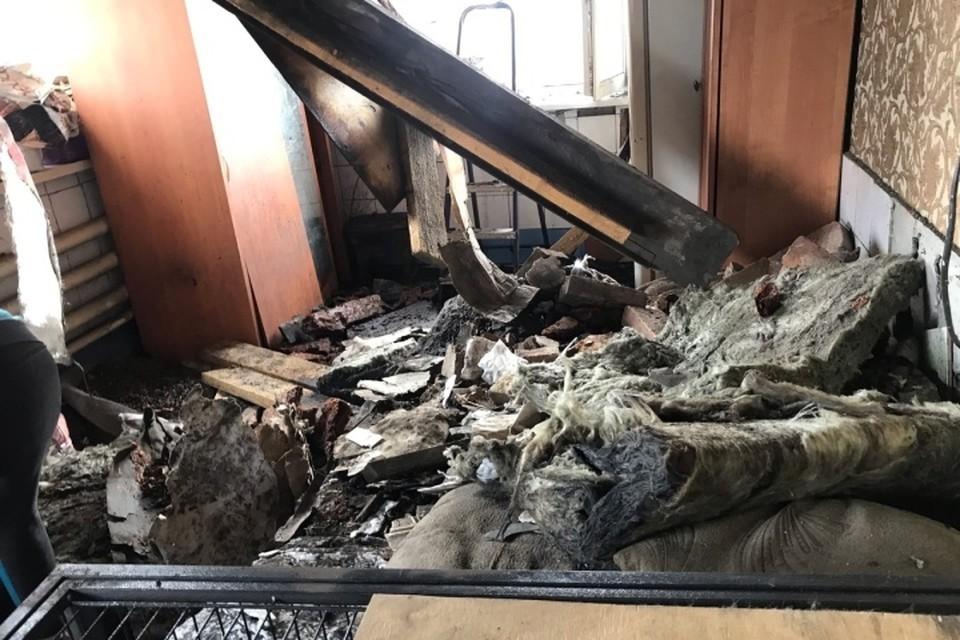 """Есть погибшие: газовый баллон взорвался в Кемерове. ФОТО: vk.com, """"Собачья передержка """"Маячок"""" Кемерово"""""""