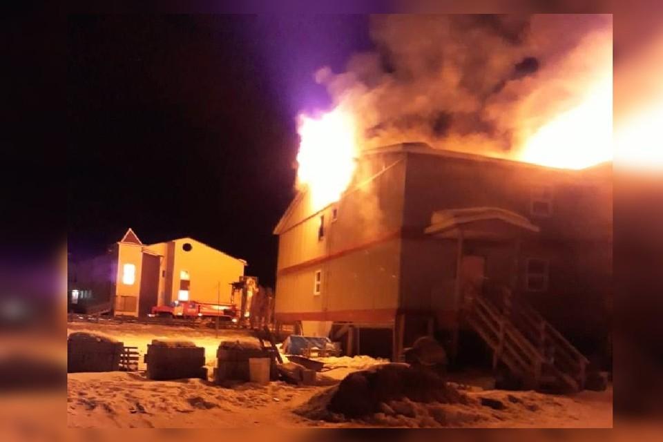 Пожар был локализован на площади 720 кв.м. Фото: МЧС