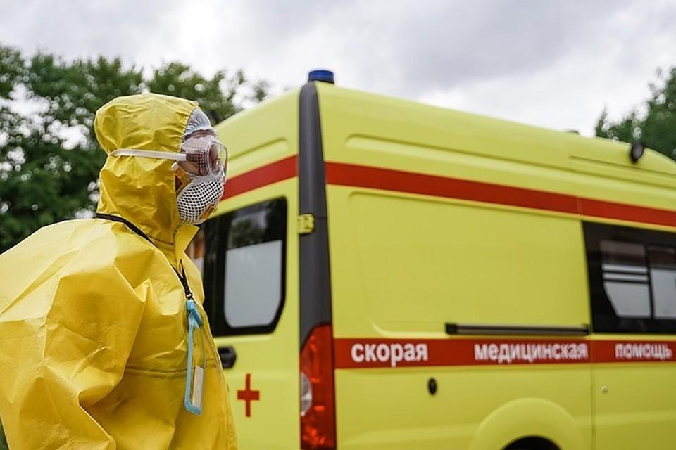 В России за сутки выявлено 8 672 случая коронавируса