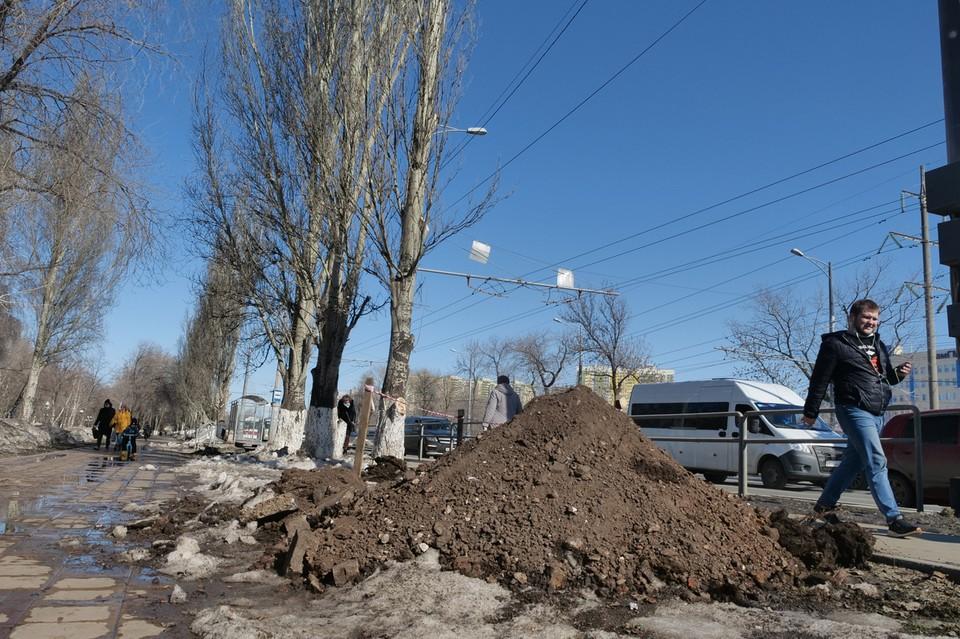 В Самаре стартовал масштабный ремонт Московского шоссе