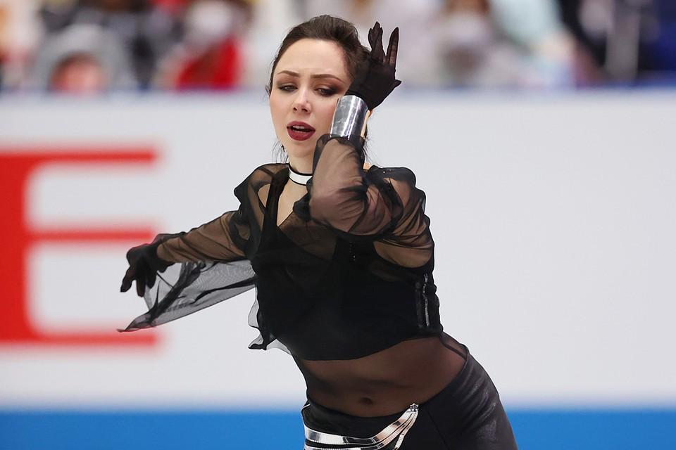 Елизавета Туктамышева заняла второе место после короткой программы у девушек