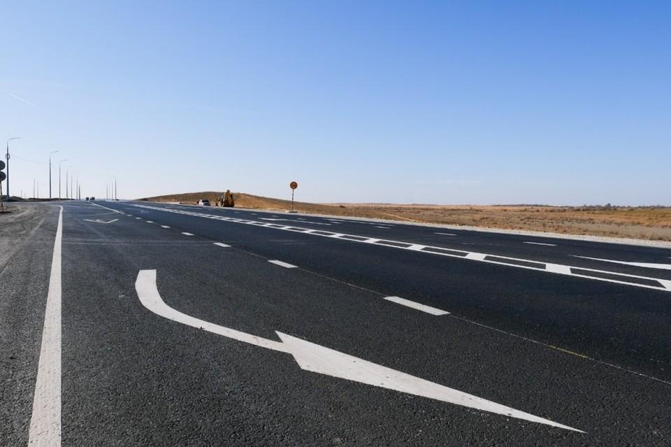 Только в этом году вошли астраханские магистрали общей протяжённостью более 148 километров