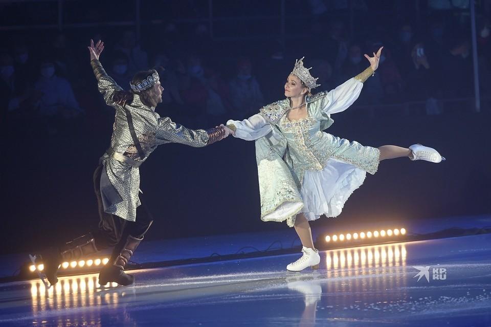 Семь тысяч зрителей увидели шоу Татьяны Навки.