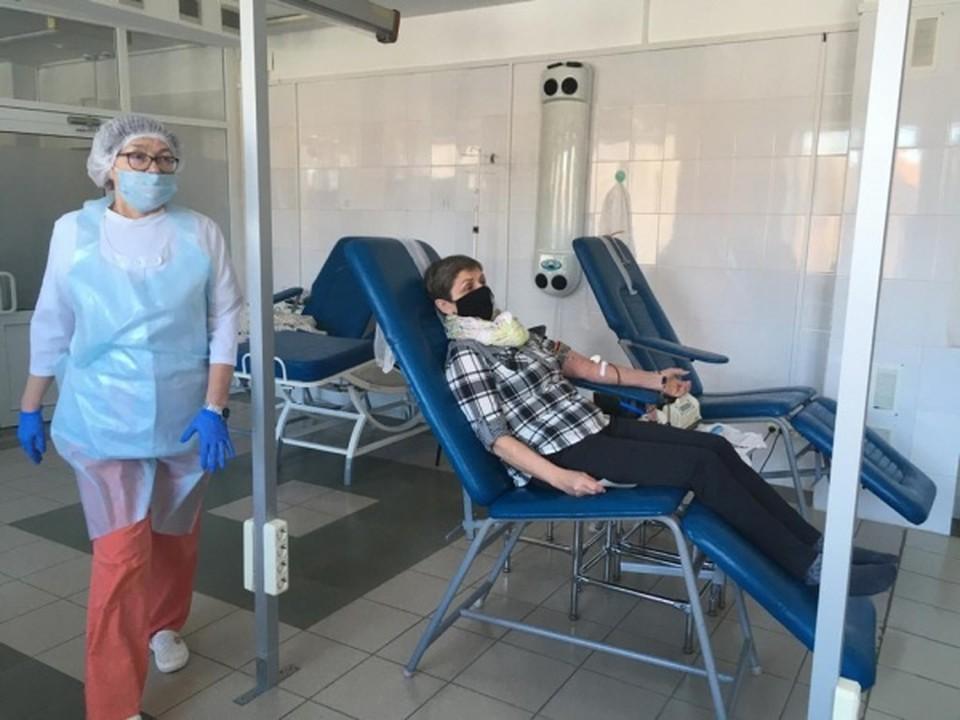 46-летний житель Удмуртии стал около 80 литров крови за 165 раз Фото: пресс-служба министерства здравоохранения Удмуртии