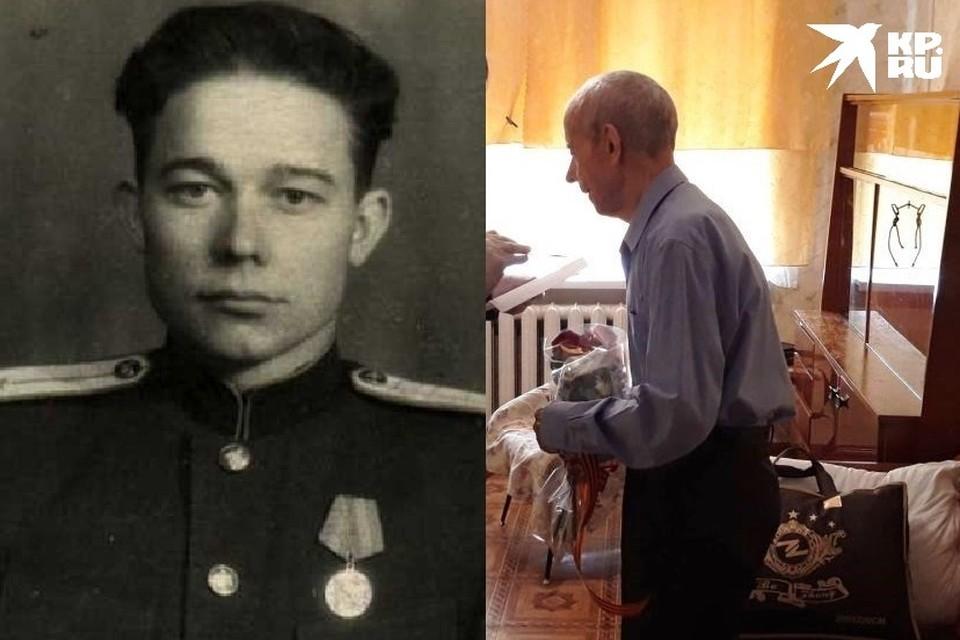 Свой 94-й день рождения ветеран отметил 27 февраля в кругу семьи.