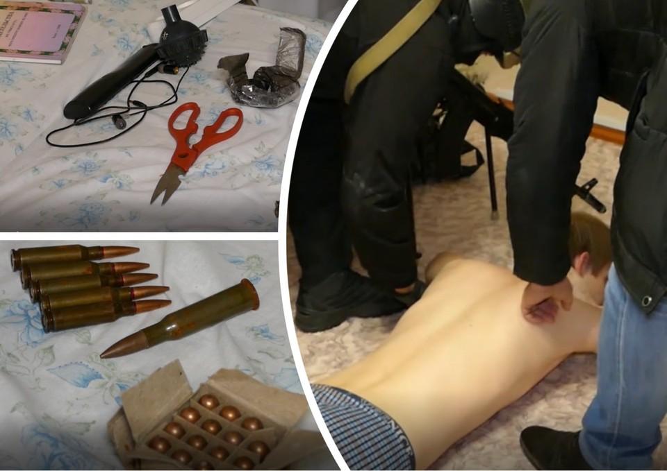 В ходе обысков у челябинца нашли боеприпасы и религиозную литературу