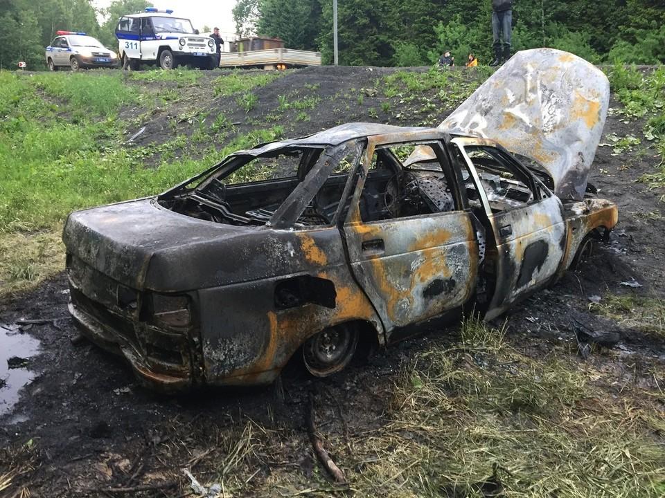 В Кузбассе житель выдумал угон машин из-за страха перед супругой. Фото: ГУ МВД по Кемеровской области.