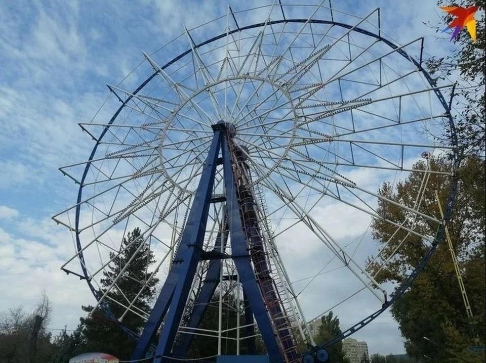 В Ижевске появится 27-метровое колесо обозрения Фото: Юлия Данильченко