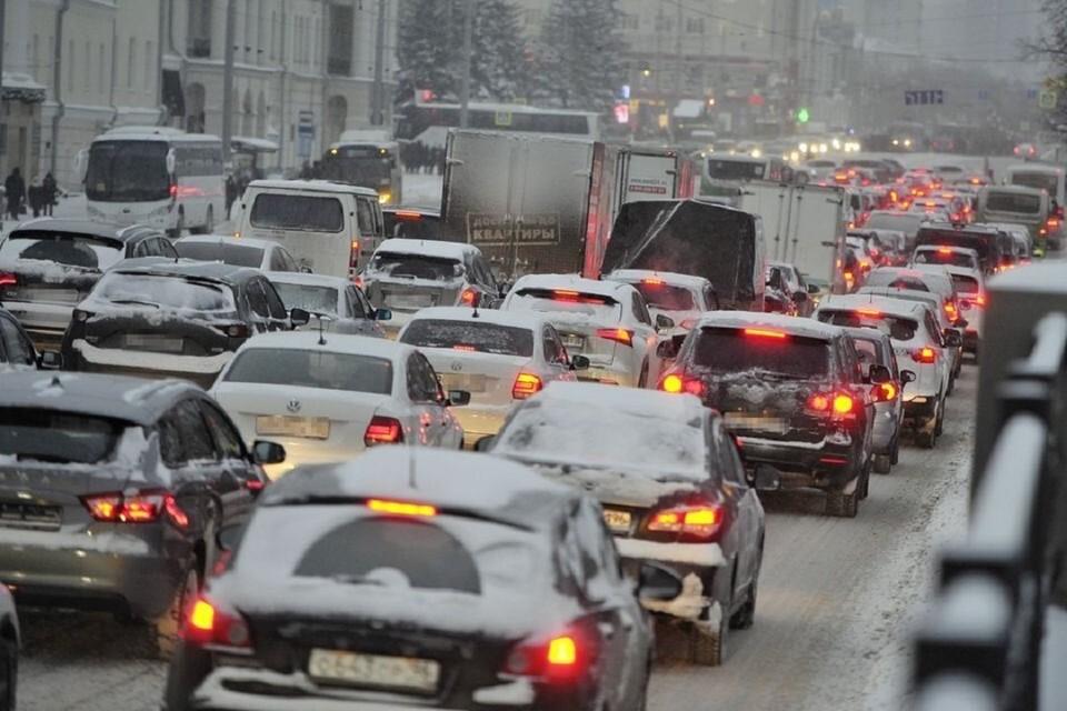 Пробки на утро 22 апреля 2021 года достигли 6 баллов в Новосибирске.