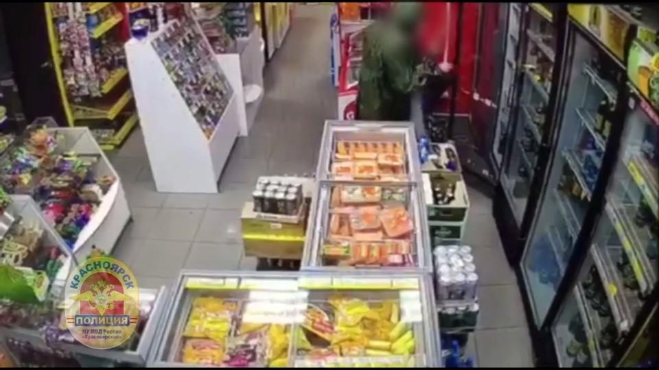 Фото: скрин из видео МВД по Красноярскому краю