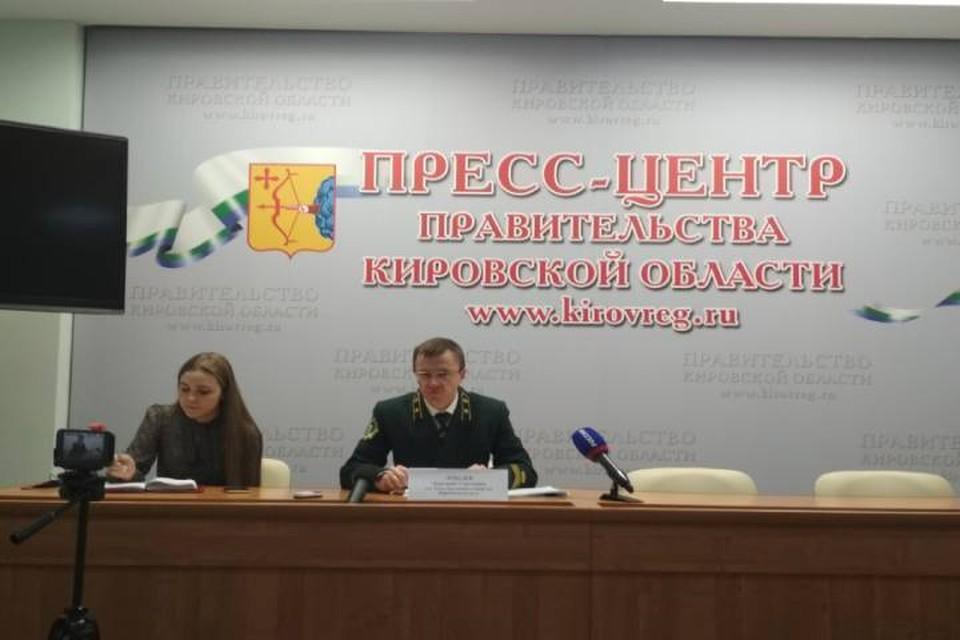 И.о министра лесного хозяйства Кировской области Дмитрий Лебедев во время пресс-конференции рассказал о главных задачах ведомства на текущий год.