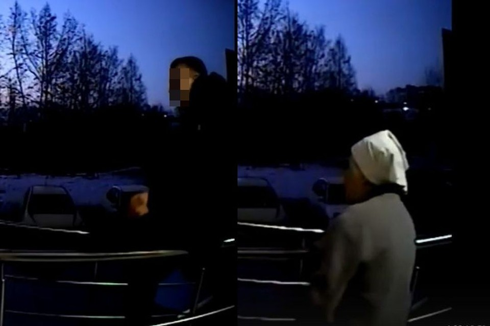 Появилось видео, как толпа подростков издевается над 72-летней новосибирской пенсионеркой. Фото: Кадр из видео