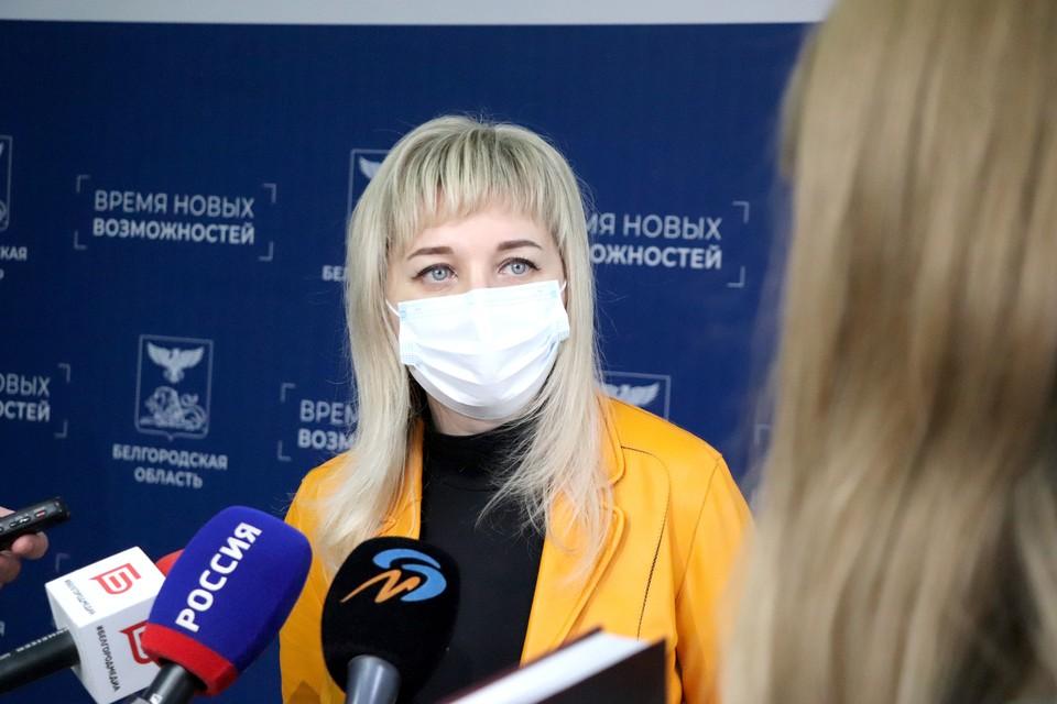 Спикер Думы Ольга Павлова поддержала инициативу Тараса Хтея. Фото пресс-службы Белгородской областной Думы.