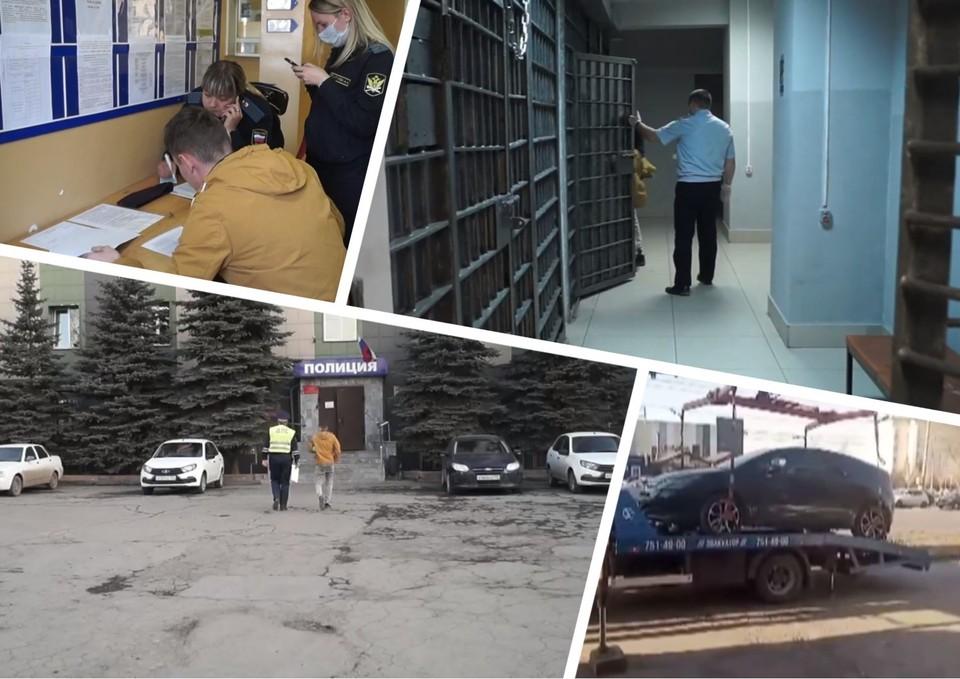 Мужчина привлек внимание сотрудников ГИБДД случайно. Фото: пресс-служба УГИБДД по Челябинску