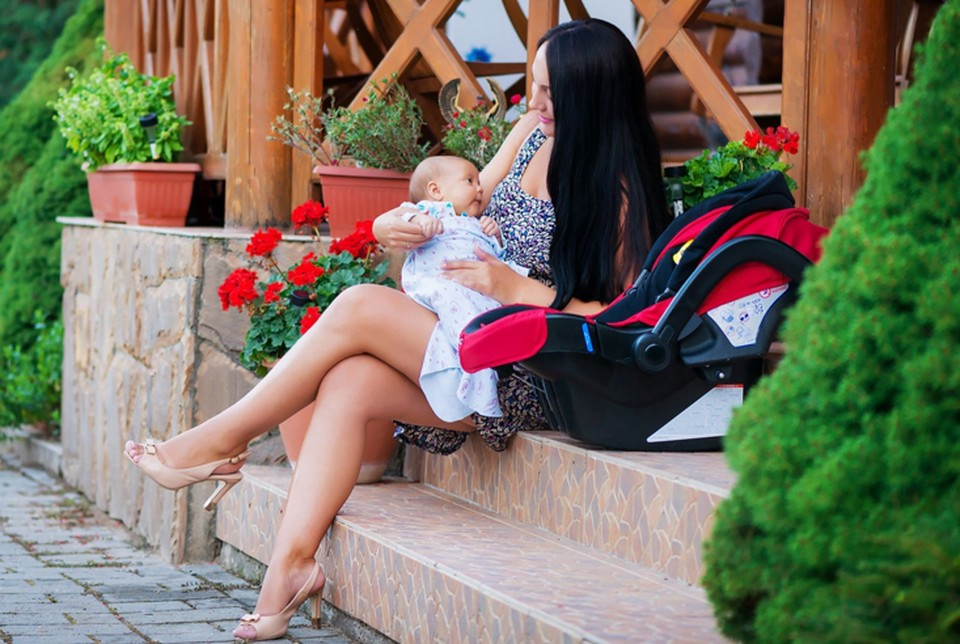Татьяна Крылова родила Полину в июне 2017 года. Фото: личный архив Крыловых