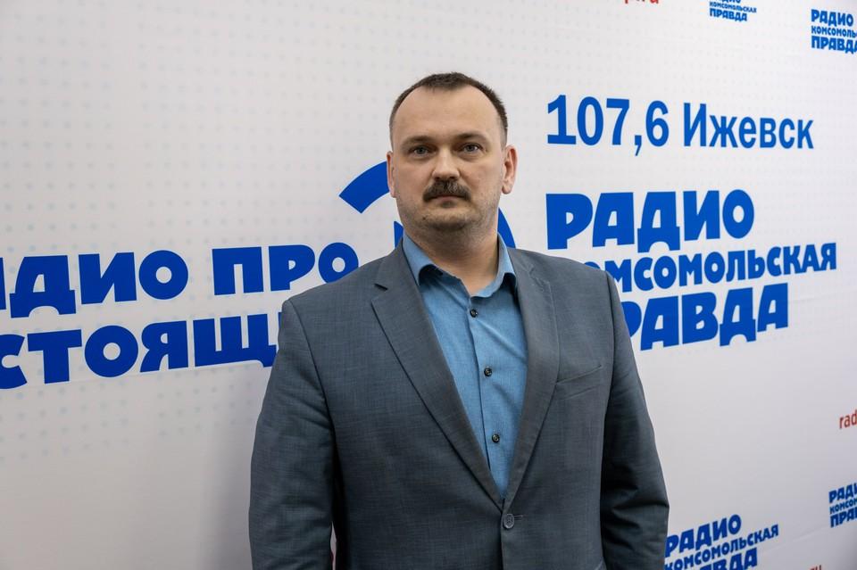 Глава Устиновского района Ижевска Владимир Петухов