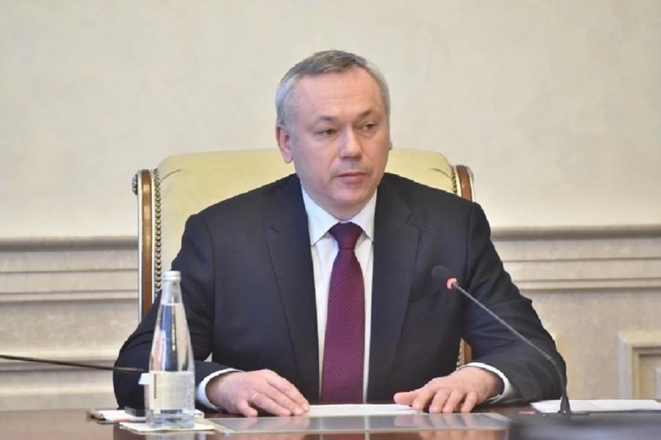 Губернатор Андрей Травников поручил всем службам Новосибирской области бесперебойно работать в майские праздники. Фото: правительство НСО.