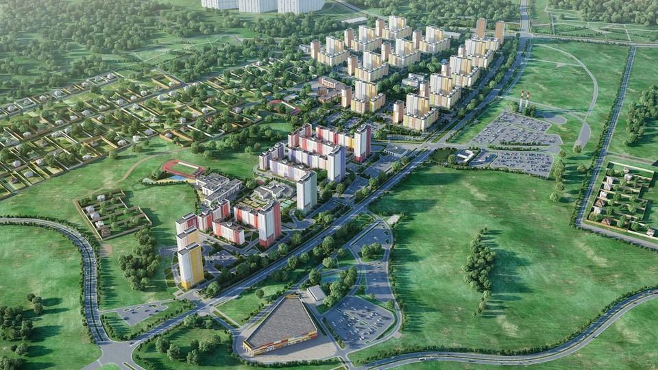 Территория ЖК «Новая Кузнечиха» увеличится на 50 гектаров. Фото: «Столица Нижний».
