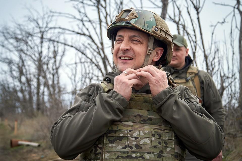 Kогда Зеленский зовет Путина в Донбасс на подконтрольную Киеву территорию - ему отвечают соответственно
