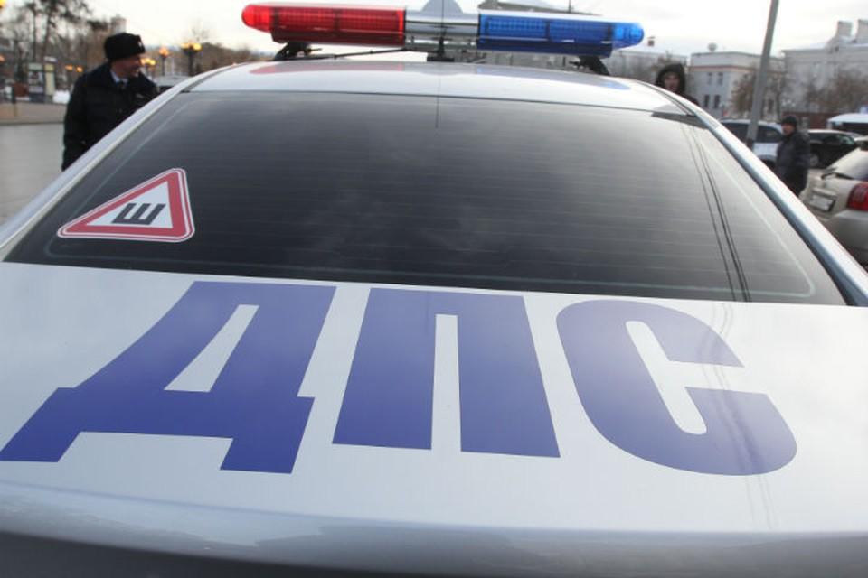 Один человек пострадал в столкновении Тойоты и Мазды на улице Розы Люксембург в Иркутске