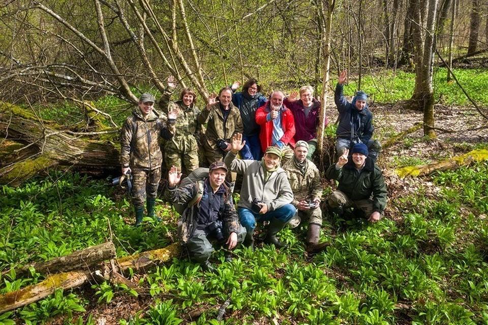 Помимо лекций участники встречи посетили живописные места брянского леса.