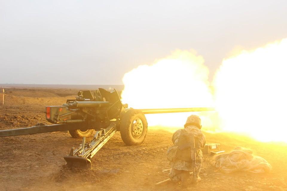 ВСУ продолжают ежедневно вести обстрелы территорий ДНР и ЛНР. Фото: Пресс-центр штаба ООС