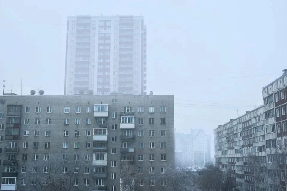 Новосибирск накрыло смогом.