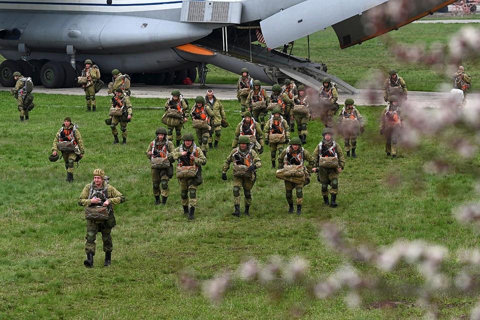 В России завершились крупные военные учения