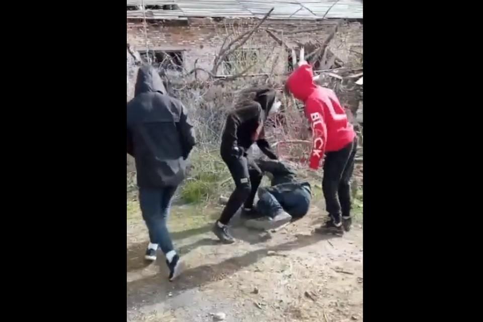 Фото: кадр из опубликованного видео в vk.com.