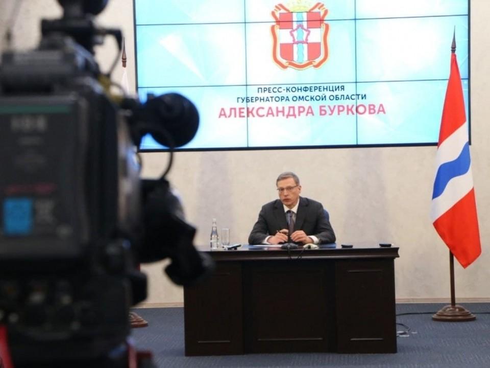 Омский губернатор Александр Бурков считает, что инициатива главы региона очень нужная и своевременная. ФОТО: Сергей МЕЛЬНИКОВ