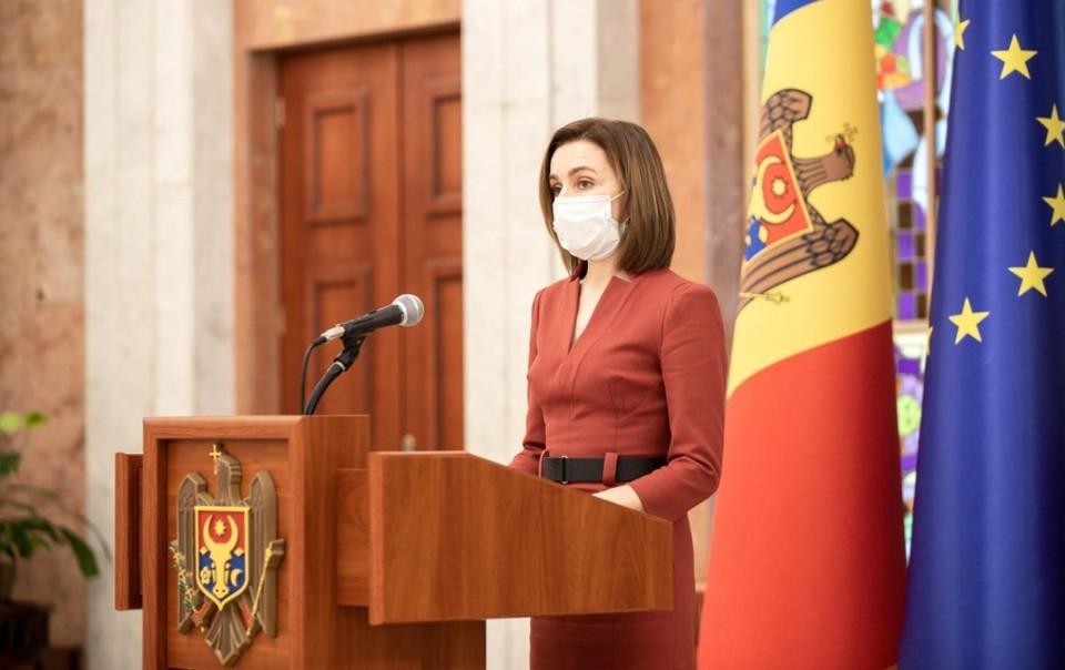 Санду объявила дату досрочных парламентских выборов в Молдове.