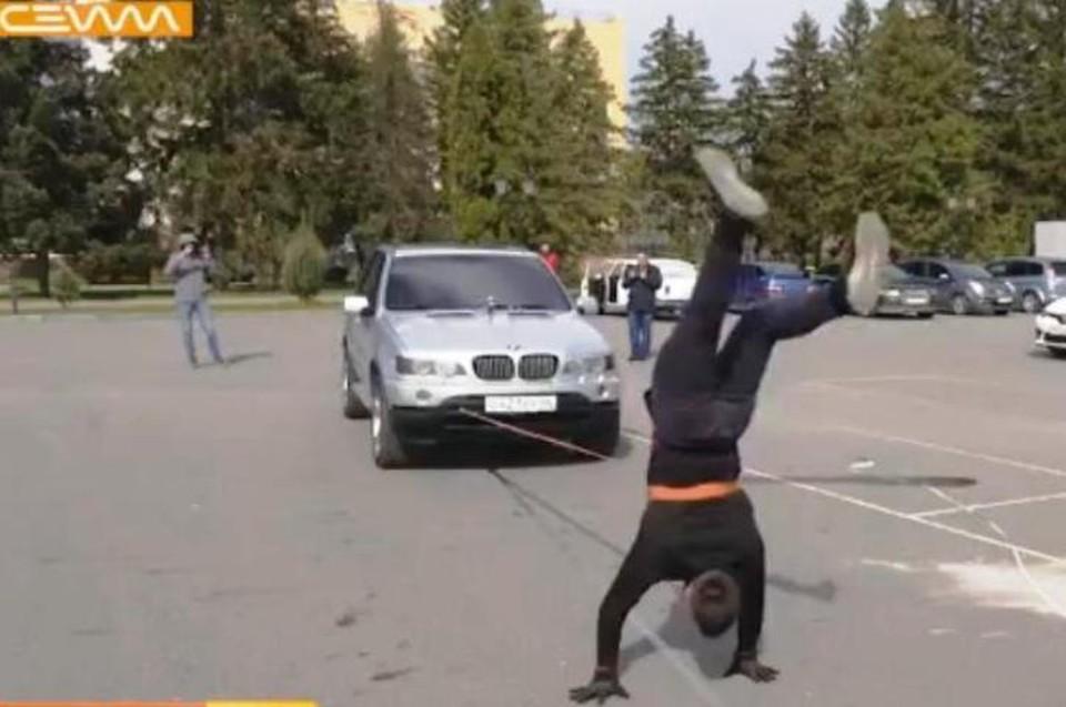 "Подготовка к рекорду заняла два месяца. (ТК ""Сейм"")"