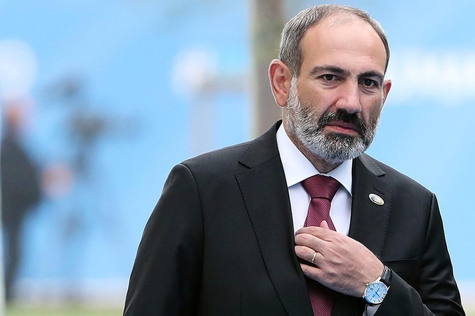 Исполняющий обязанности премьера Армении Никол Пашинян