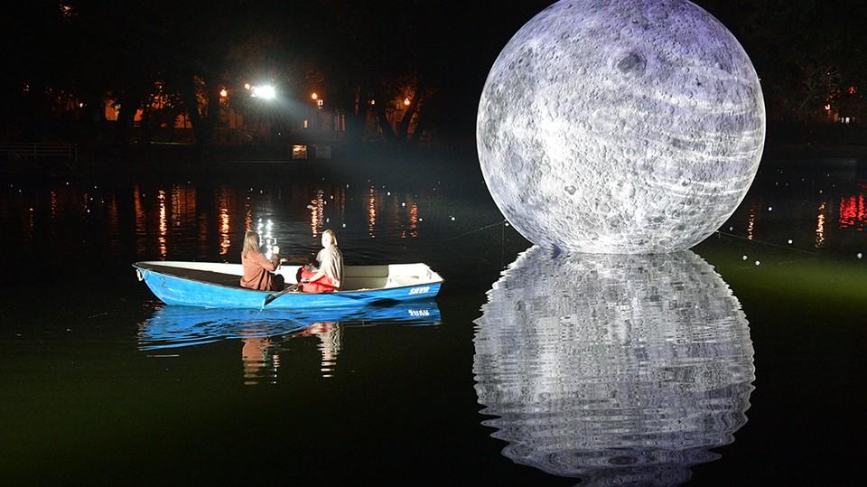 В мае произойдет лунное затмение.