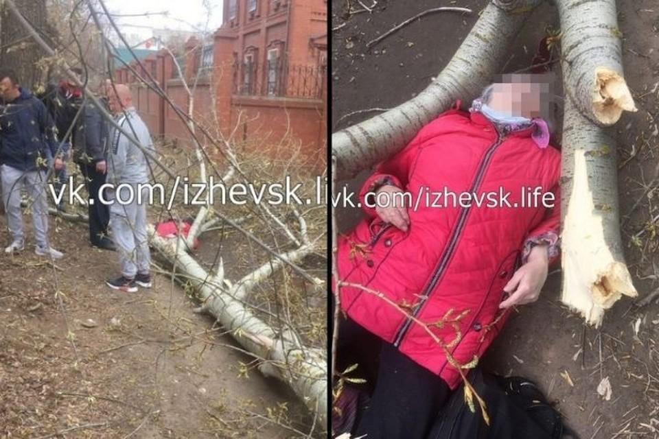 Трагедия произошла 1 мая на улице Металлистов в Ижевске Фото: социальные сети