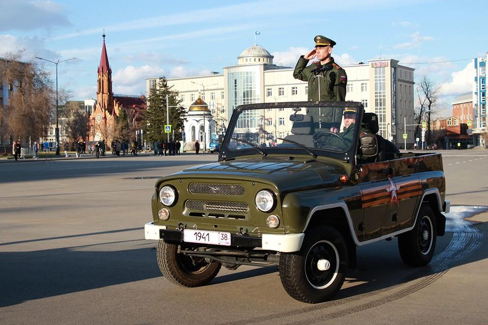 Репетиция парада Победы в Иркутске 2021: лучшие фото и видео