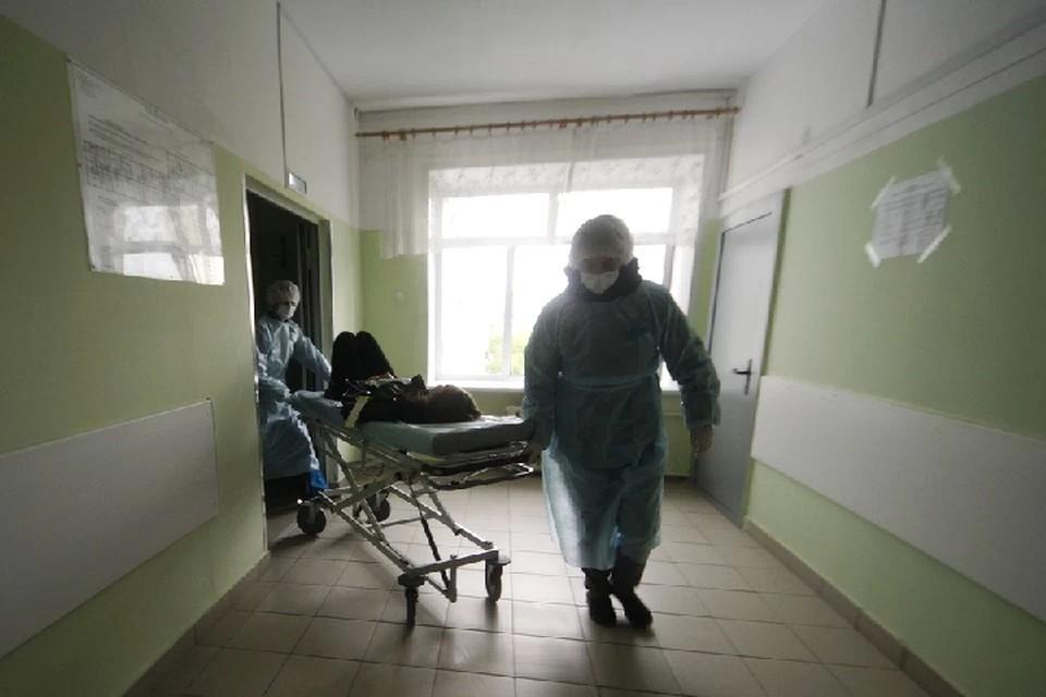 В больницы обратились 107 больных с пневмонией, из них медики госпитализировали 71