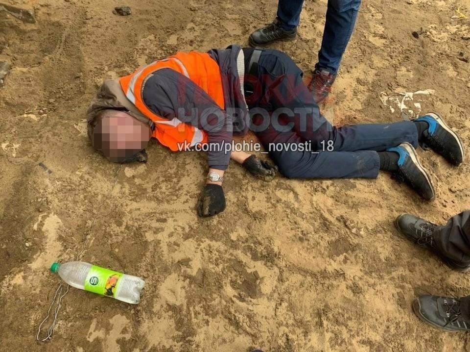 Мужчина скончался до приезда скорой помощи