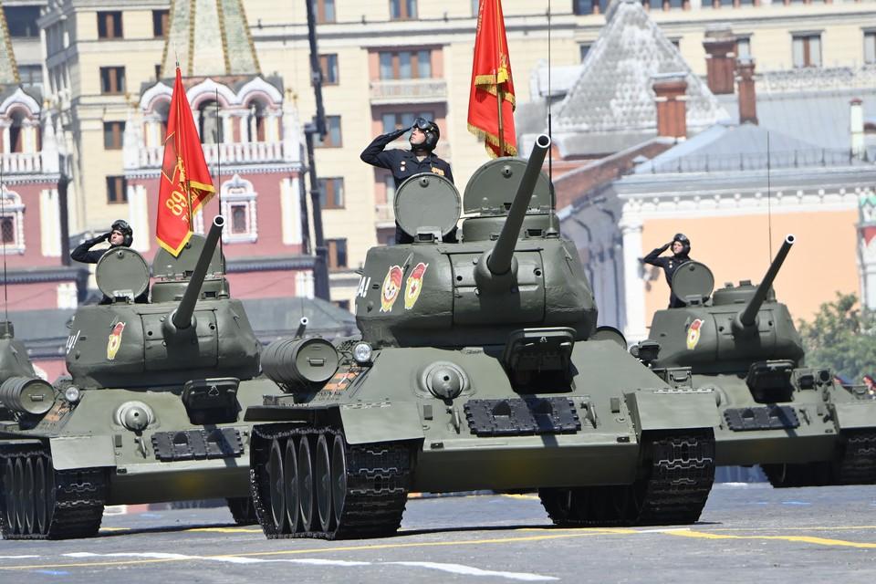 После воронежского парада воронежцы смогут посмотреть и московский на большом экране.