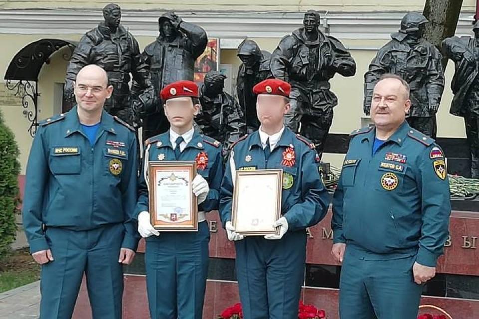 Кадеты из Братска спасли 14 детей на пожаре в гостинице в Москве