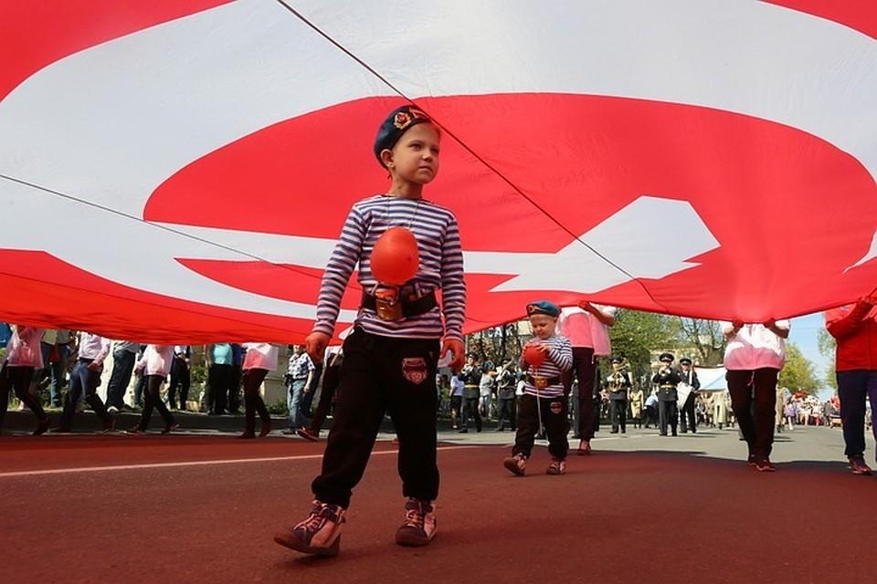 В Ставрополе уже начались праздничные мероприятия, посвященные Дню Победы