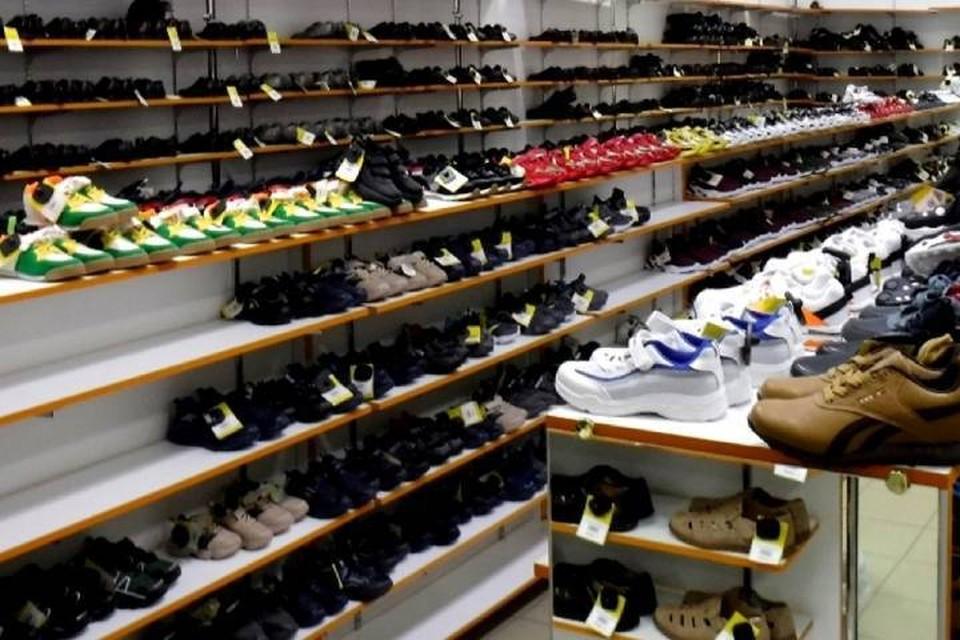 40 тысяч пар обуви без маркировки забрали из незаконной продажи таможенники в Иркутске. Фото: пресс-служба Иркутской таможни.