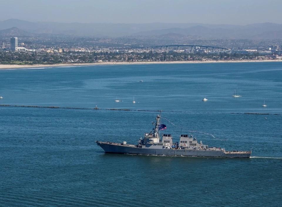 ВМФ России следит за действиями патрульного корабля Франции в Черном море