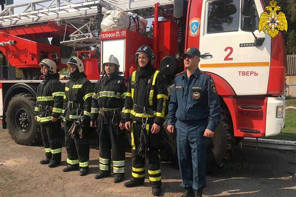 Выплыть на берег мужчине помогли спасатели МЧС Фото: ГУ МЧС России по Тверской области