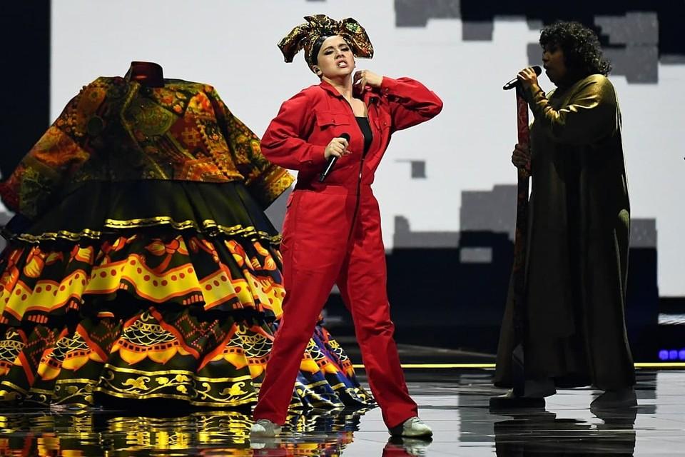 Манижа выступала в первом полуфинале Евровидения – 2021 под третьим номером