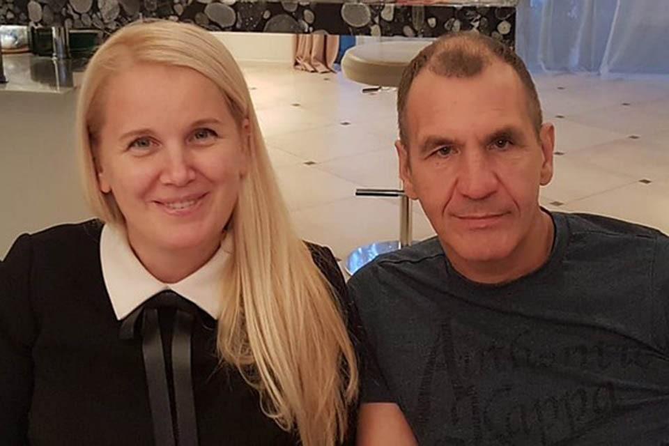 Супруги Наталья и Максим Шугалей