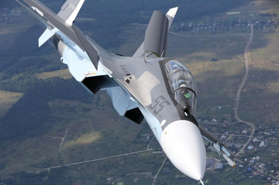 Су-30СМ в течение одного дня может выполнить десятки вылетов с разными задачами. Фото: архив «КП»-Севастополь»